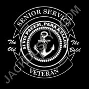senior service veteran white