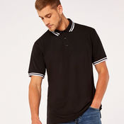 Tipped Polo Shirt by Kustom Kit