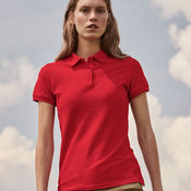 Ladies  Polo Shirt by Fruit of the Loom