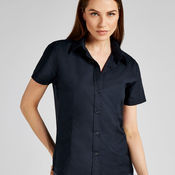 Ladies' Workwear Oxford Short Sleeve Shirt